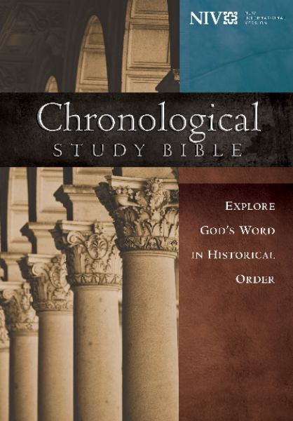 Chronological Study Bible (NIV, 4382 - Hardcover)