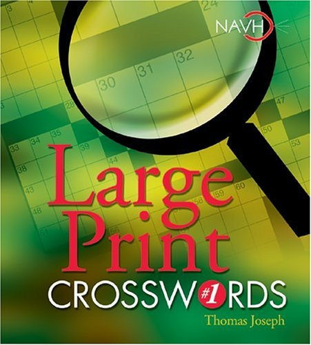 Large Print Crosswords # 1