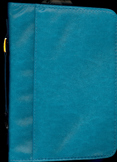 Book & Bible Cover, Large (Teal)