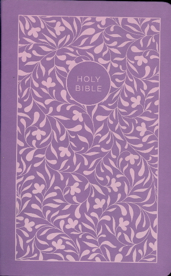 NKJV Personal Size Giant Print Reference Bible (8843PUWLM, Purple Leathersoft)