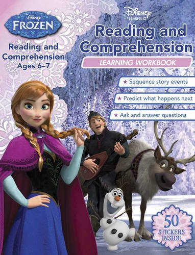 Reading and Comprehension Learning Workbook (Disney Learning, Disney Frozen)