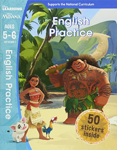 English Practice (Disney Learning: Moana, Ages 5-6)