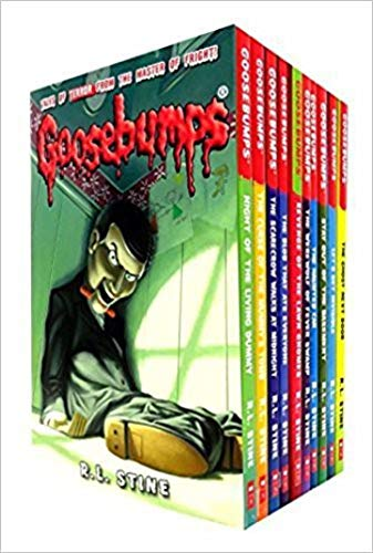 Goosebumps: 10 Books Collection Set (Classic Covers)