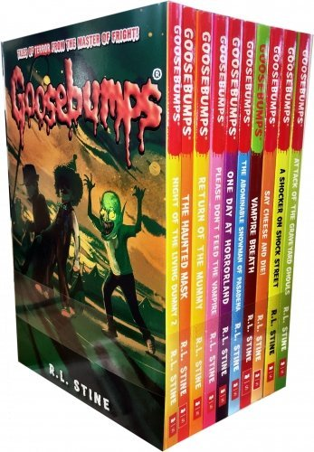 Goosebumps: 10 Books Set Collection (Classic Covers)