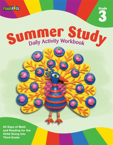 Summer Study Daily Activity Workbook: Grade 3 (Flash Kids Summer Study)
