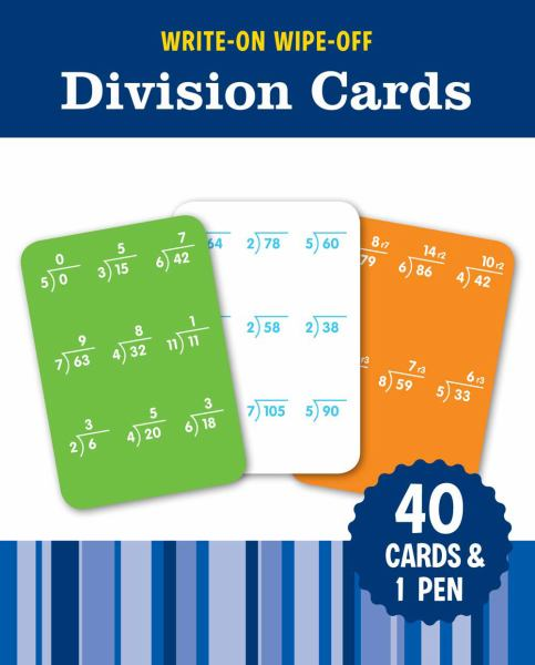 Division Cards (Write-On, Wipe-Off, FlashKids)