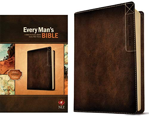 NLT Every Man's Bible: Deluxe Explorer Edition (Brown Imitation Leather)
