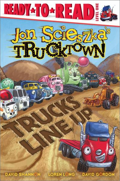 Trucks Line Up (Jon Scieszka's Trucktown, Ready-to-Read, Level 1)