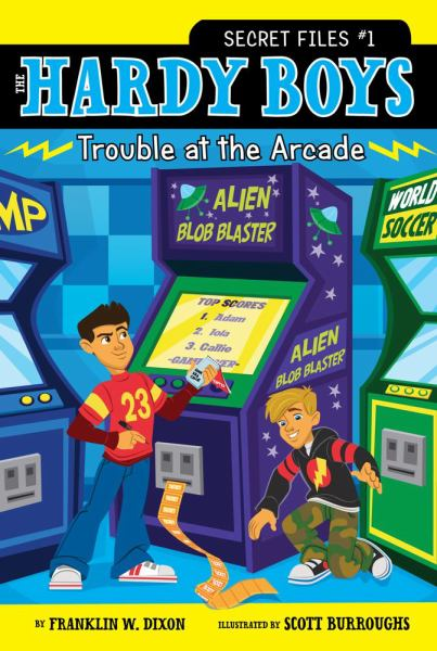 Trouble at the Arcade  (The Hardy Boys  Secret Files, Bk.1)