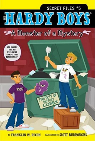 A Monster of a Mystery (The fHardy Boys Secret Files #5)