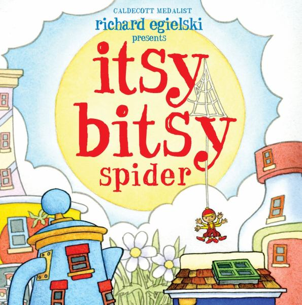Itsy Bitsy Spider (Pop-Up Book)