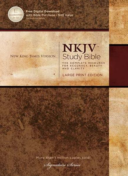 NKJV Study Bible: The Complete Resource for Accuracy, Beauty, and Clarity (NKJV,3882N, Study Large Print Edition)