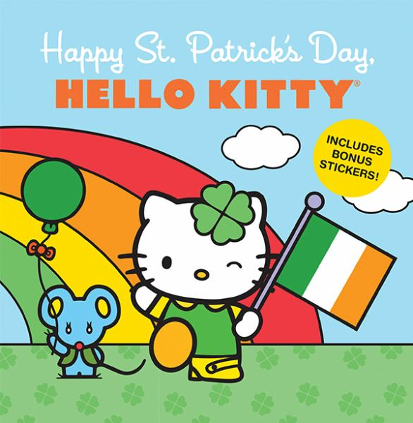 Happy St. Patrick's Day (Hello Kitty)
