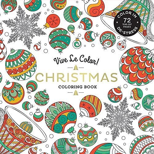 Vive Le Color! Christmas Coloring Book