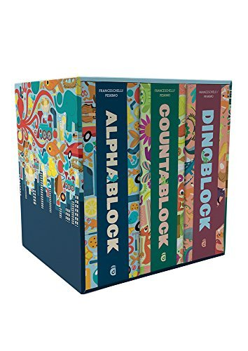 A Special Block Book Collection (Dinoblock/Countablock/Alphablock)