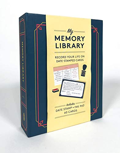 Memory Library: Record Your Life on Date Stamped Cards (Vol. 1)