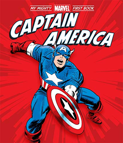 Captain America (A Mighty Marvel First Book)