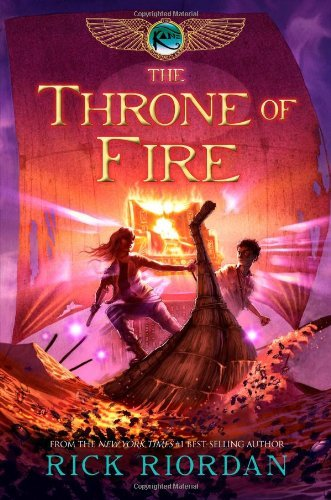 The Throne of Fire (The Kane Chronicles, Bk. 2)
