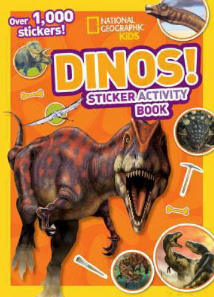 Dinos! Sitcker Activity Book (National Geographic Kids)