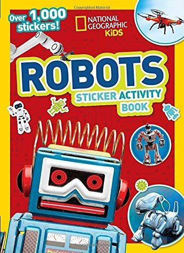 Robots Sticker Activity Book (National Geographic Kids)