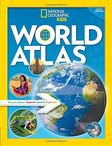 World Atlas (National Geographic Kids, 5th Edition)