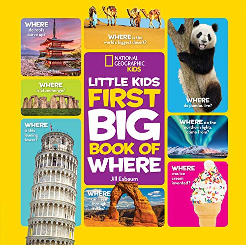 First Big Book of Where (National Geographic Little Kids First Big Books)