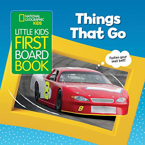 Things That Go (Little Kids First Board Book)