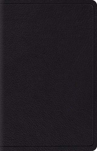 ESV Wide Margin Reference Bible (Black Top Grain Leather)