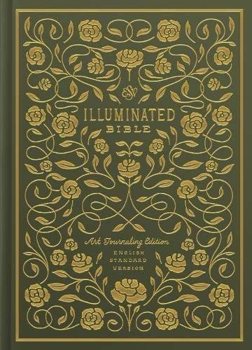 ESV Illuminated Bible, Art Journaling Edition (Green)