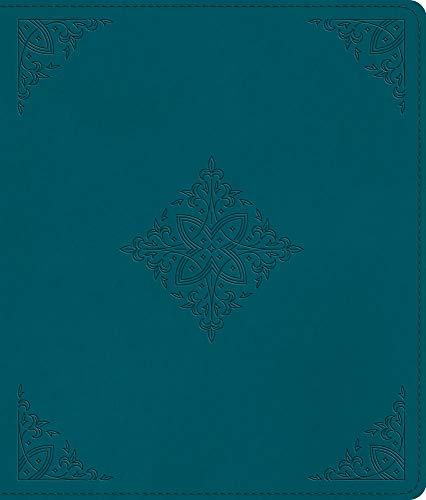 ESV Journaling Bible (TruTone, Deep Teal, Fleur-de-lis Design)