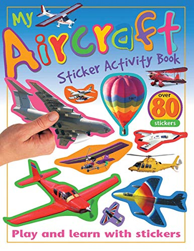 My Aircraft Sticker Activity Book