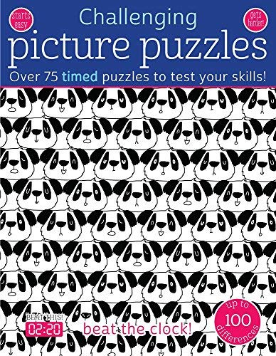 Challenging Picture Puzzles: Over 75 Timed Puzzles to Test Your Skills