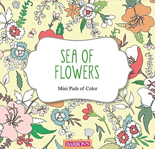 Sea of Flowers (Mini Pads of Color Series)