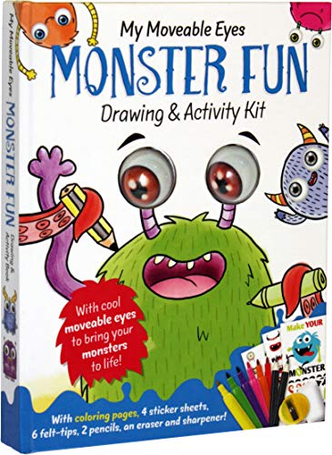 My Moveable Eyes Monster Fun: Drawing & Activity Book