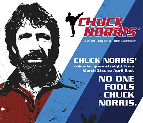 Chuck Norris 2021 Day-at-a-Time Box Calendar