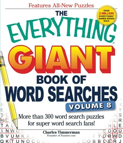 Giant Book of Word Searches, Volume 8 (The Everything)
