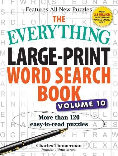 Large-Print Word Search Book, Volume 10 (The Everything)