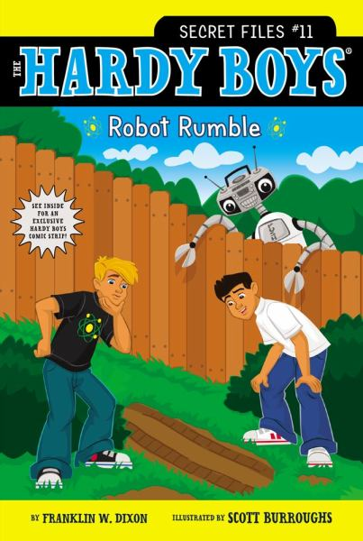 Robot Rumble (Hardy Boys, Secret Files, #11)