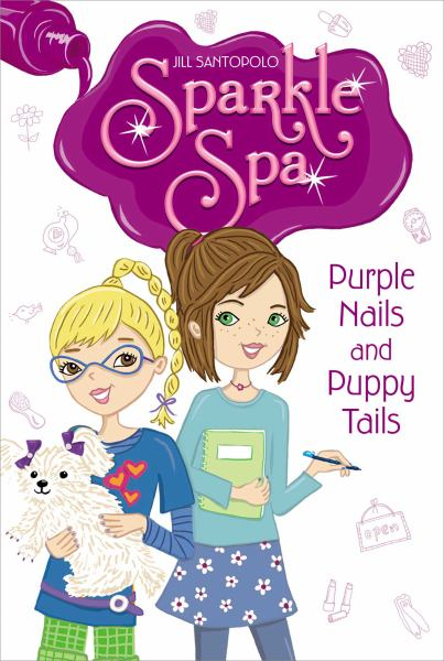 Purple Nails and Puppy Tails  (Sparkle Spa #2)
