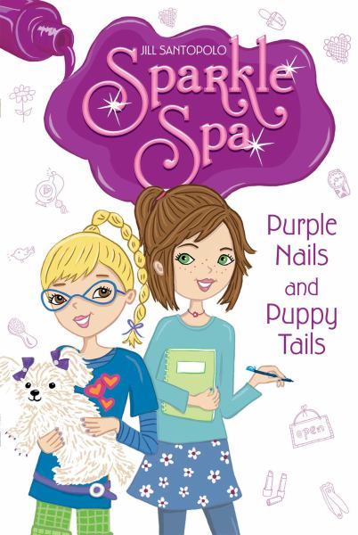 Purple Nails and Puppy Tails (Sparkle Spa, Bk. 2)