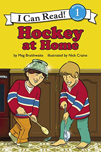 Hockey at Home (I Can Read! Level 2)