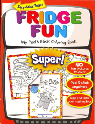 Fridge Fun: Super! (My Peel & Stick Coloring Book)
