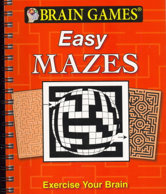 Easy Mazes (Brain Games)