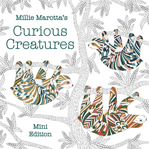 Millie Marotta's Curious Creatures: Mini Edition (A Millie Marotta Adult Coloring Book)