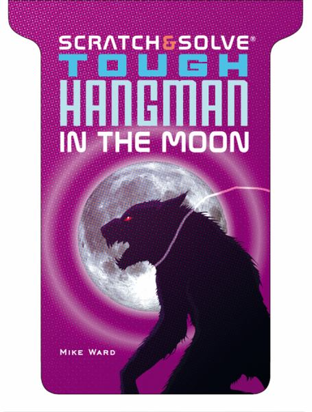Tough Hangman in the Moon (Scratch & Solve)