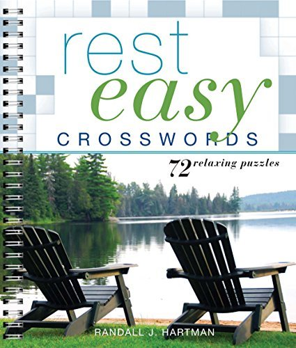 Rest Easy Crosswords: 72 Relaxing Puzzles