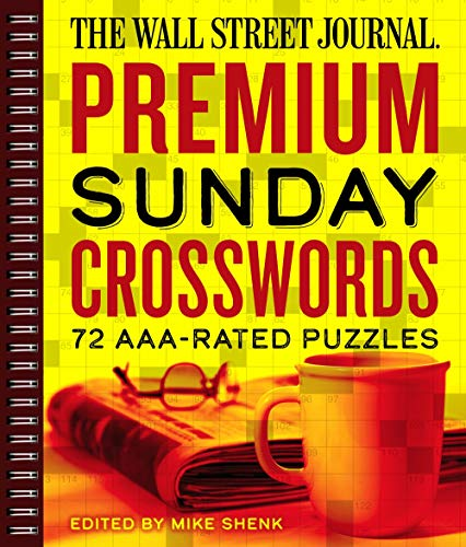 The Wall Street Journal Premium Sunday Crosswords: 72 AAA-Rated Puzzles (Volume 4)