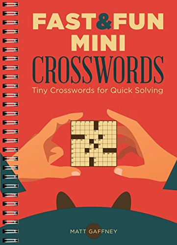 Fast & Fun Mini Crosswords: Tiny Crosswords for Quick Solving
