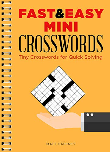 Fast & Easy Mini Crosswords: Tiny Crosswords for Quick Solving