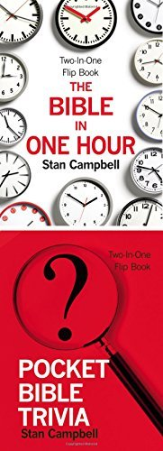 The Bible in One Hour & Pocket Bible Trivia (Flip Book)